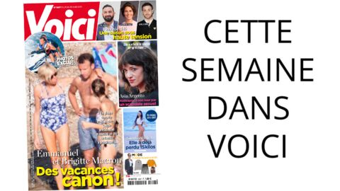 Cette semaine dans Voici: le président Emmanuel Macron comme vous ne l'avez jamais vu!