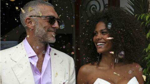 PHOTO Vincent Cassel et Tina Kunakey se sont mariés à Bidart