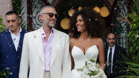 Mariage de Vincent Cassel et Tina Kunakey: découvrez toutes les photos