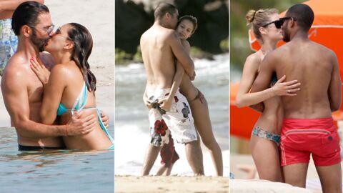 PHOTOS C'est l'amour à la plage (ahou cha cha cha): quand les people se lâchent