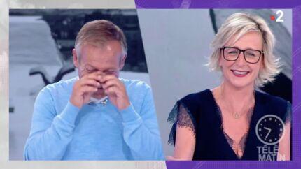 VIDEO Télématin: Laurent Bignolas déclenche un fou rire en parlant de bittes d'amarrage