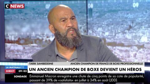 VIDEO Tarik Sahibeddine: l'ancien champion de boxe explique comment il a fait échouer le détournement d'un avion