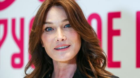 PHOTO Carla Bruni  se moque (gentiment) de sa chienne Nastasya