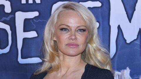 PHOTO Pamela Anderson sexy sur le tournage d'un film français, ses fans sont sous le charme