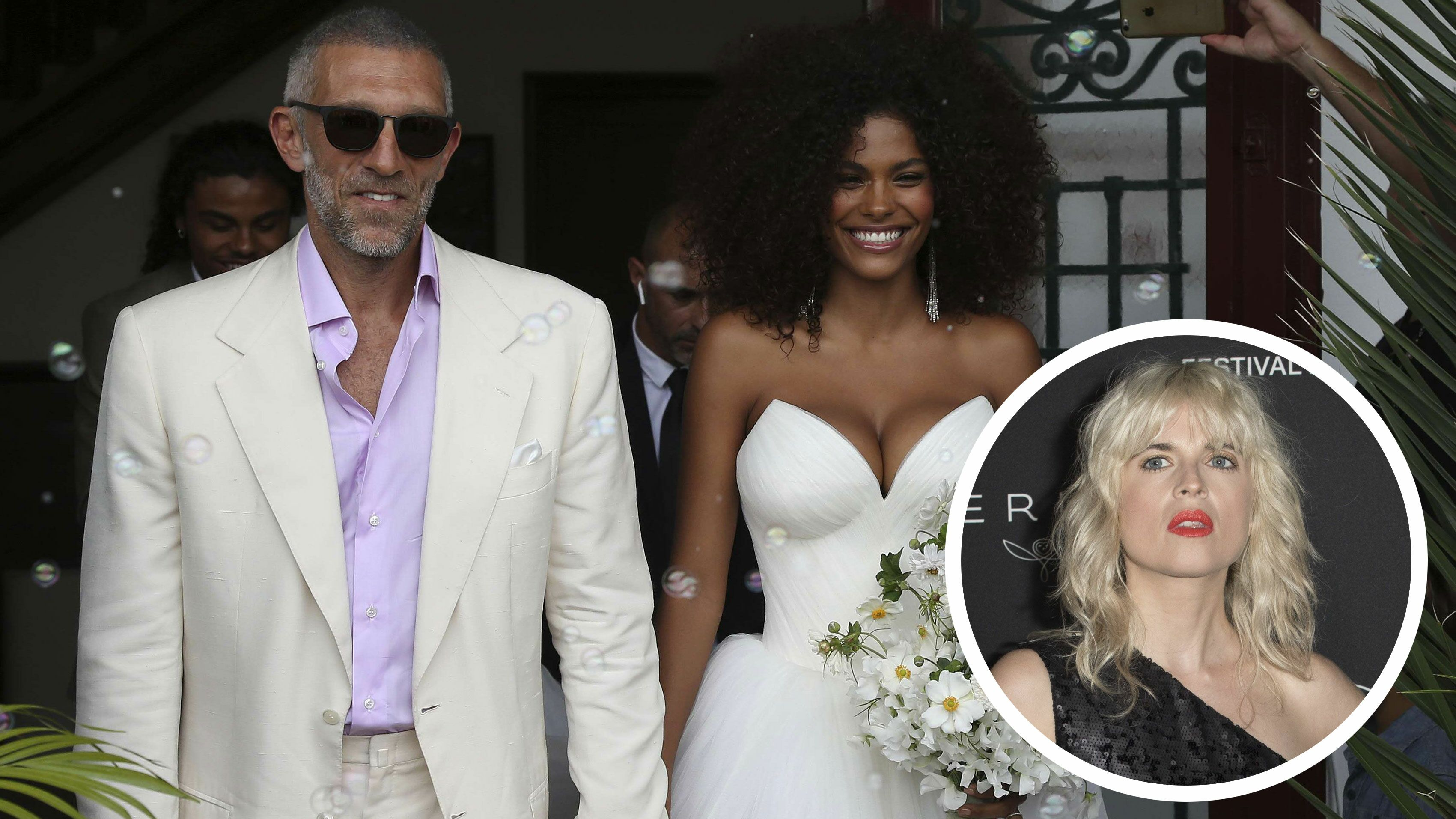 Mariage de Vincent Cassel  découvrez l\u0027émouvante surprise de sa sœur  Cécile le jour de la cérémonie , Voici