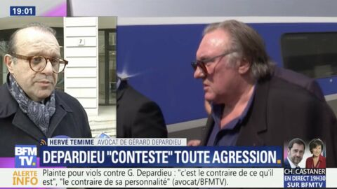 VIDEO Gérard Depardieu accusé de viol: la plainte de la jeune actrice lui a fait «très mal»