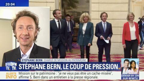 Stéphane Bern pousse un coup de gueule contre Emmanuel Macron