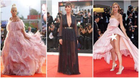 PHOTOS Mostra de Venise: une invitée montre sa culotte, Bérénice Bejo relookée, Nora Hamzawi TRÈS décolletée