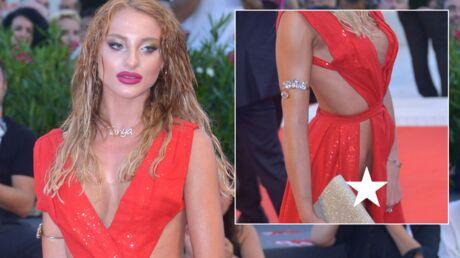 PHOTOS Mostra de Venise 2018: une dame choque avec sa robe ECHANCRÉE DE PARTOUT sur le tapis rouge