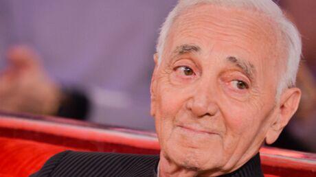 Charles Aznavour grand-père pour la 4e fois à 94 ans, son fils est papa!