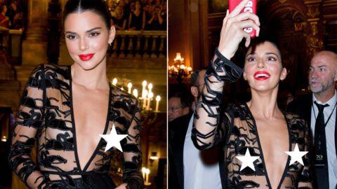 PHOTOS Kendall Jenner en montre trop lors des 70 ans de Longchamp