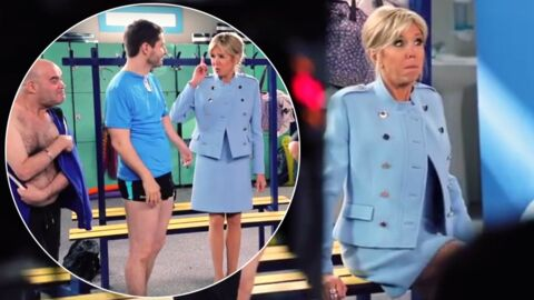 Brigitte Macron dans la mini-série Vestiaires: les premières images et les coulisses révélées en vidéo