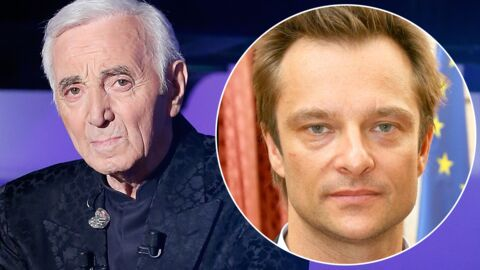 Charles Aznavour: son geste symbolique adressé à David Hallyday, fils de son ami Johnny