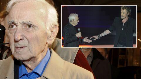 Charles Aznavour balance: «On m'a tenu éloigné de Johnny Hallyday»