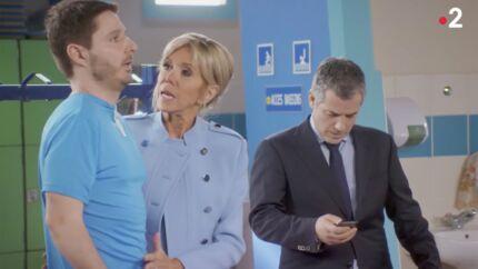 VIDEO Brigitte Macron dans Vestiaires: le drôle de clin d'œil à Valérie Trierweiler