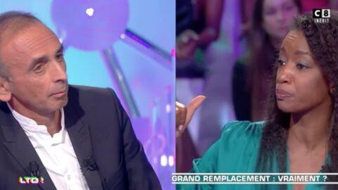 VIDEO Les Terriens du dimanche: «affectée» par son clash avec Eric Zemmour, Hapsatou Sy veut porter plainte