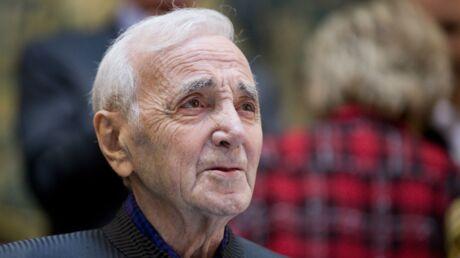 Les larmes aux yeux, Charles Aznavour se confie sur sa peur de la mort