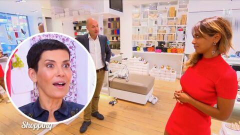 VIDÉO Une candidate des Reines du shopping se fait lourdement draguer par le vendeur d'une boutique