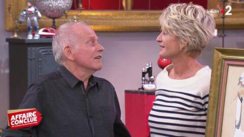 VIDEO Sophie Davant draguée par un retraité dans Affaire conclue: la séquence gênante