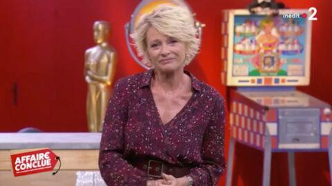 VIDEO Sophie Davant très émue, elle rend hommage à sa chienne Djette