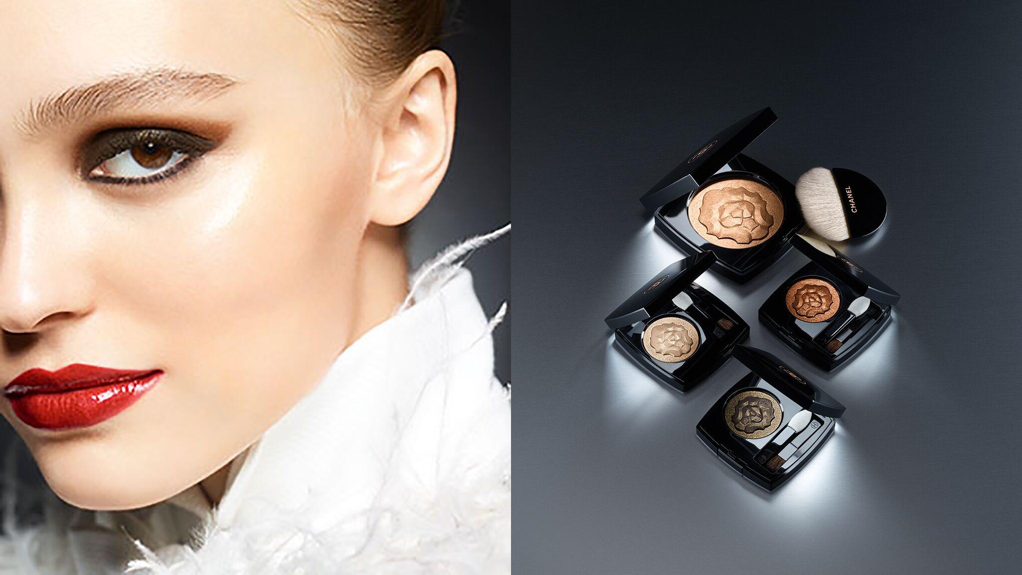 47ed4a494e68 Lily-Rose Depp sublime dans la nouvelle campagne de make-up Chanel - Voici