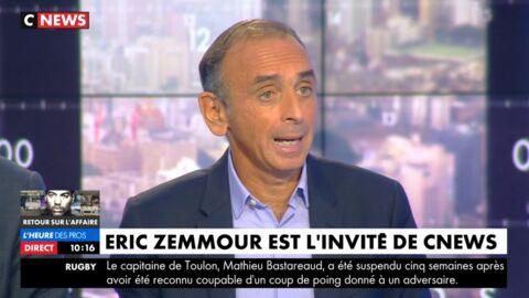 VIDEO Clash Eric Zemmour / Hapsatou Sy: le polémiste s'impose en victime