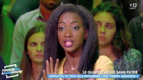 VIDEO Hapsatou Sy dénonce les révélations de Thierry Ardisson sur ses problèmes financiers