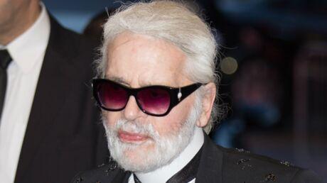 PHOTOS Karl Lagerfeld sans lunettes de soleil et avec quelques kilos en plus: il est méconnaissable!
