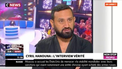 VIDEO Touche pas à mon poste: les premiers mots de Cyril Hanouna sur le départ de Bertrand Chameroy