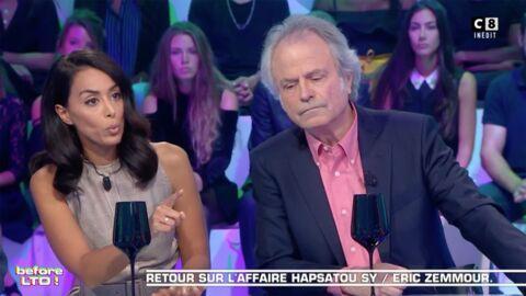 VIDEO Clash Eric Zemmour / Hapsatou Sy: les chroniqueurs des Terriens du dimanche réagissent