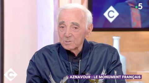 VIDEO Charles Aznavour: ce qu'il a répondu à sa femme quand elle lui a conseillé «d'arrêter»