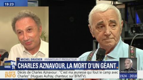 VIDEO Mort de Charles Aznavour: sa triste déclaration à Michel Drucker quelques jours avant sa mort