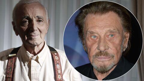 Mort de Charles Aznavour: ses pensées pour David et Johnny Hallyday peu de temps avant de disparaître