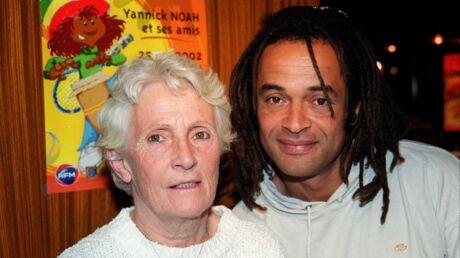 PHOTO Yannick Noah rend un tendre hommage à sa maman décédée