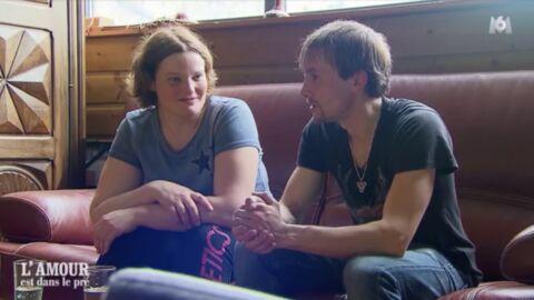L'amour est dans le pré: le détail du rapprochement d'Aude et Teddy que PERSONNE n'a vu