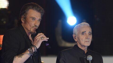Mort de Charles Aznavour: ce point commun avec Johnny qui les a tant rapprochés