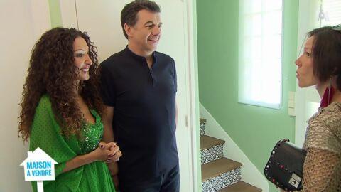 VIDEO Maison à vendre: le changement de décoration d'Emmanuelle Rivassoux fait bondir le public