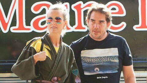 Laeticia Hallyday et Sébastien Farran: le couple gagnant pour la sortie de l'album posthume de Johnny