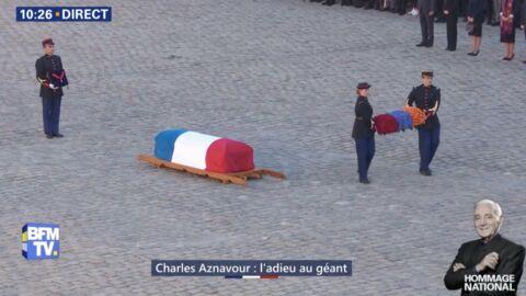 VIDEO Hommage national à Charles Aznavour: découvrez le clin d'oeil à ses deux pays la France et l'Arménie