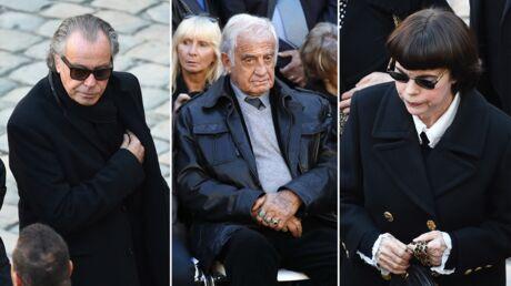 PHOTOS Charles Aznavour: l'émotion des stars et de ses proches aux Invalides avant l'hommage national