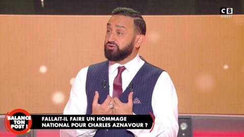 VIDEO Hommage national à Charles Aznavour: la famille du chanteur gênée? Cyril Hanouna raconte