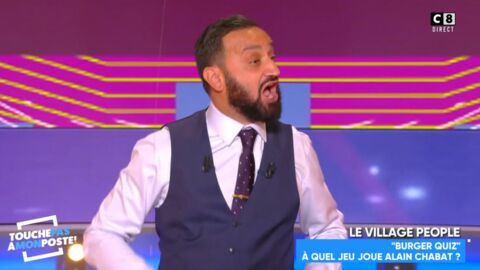 VIDEO Cyril Hanouna envoie un sms à Alain Chabat pour réagir aux questions «insultantes» du Burger Quiz