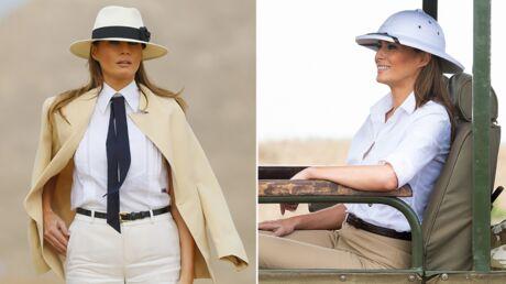 Melania Trump a multiplié les faux-pas vestimentaires lors de son voyage en Afrique