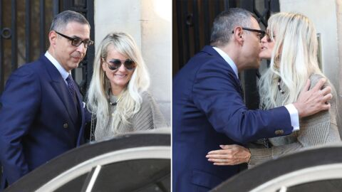PHOTOS Laeticia Hallyday à Paris : accompagnée, la veuve de Johnny va voir son avocat Me Ardavan Amir-Aslani