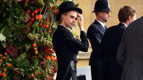Cara Delevingne: que penser de son look androgyne au mariage d'Eugenie d'York et Jack Brooksbank?