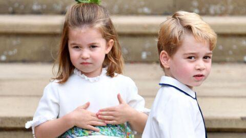 PHOTOS Mariage d'Eugenie d'York: George et Charlotte TROP mignons en enfants d'honneur