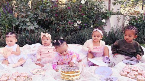 PHOTO Les bébés Kardashian posent pour les six mois de la petite True