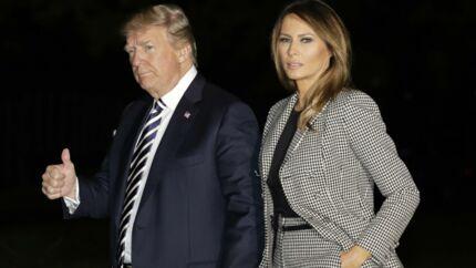 Melania Trump répond pour la première fois aux rumeurs d'infidélité de son mari