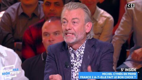 VIDEO Michel Cymes se fait atomiser par Gilles Verdez dans Touche pas à mon poste