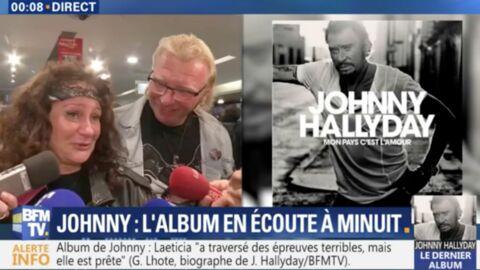 VIDEO Johnny Hallyday: l'émotion des fans pour la sortie de son album posthume